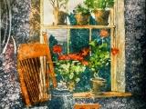 geranium window 22x14