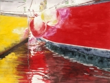 trawlers, red n yellow 22x30