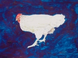 blue chicken 11x16