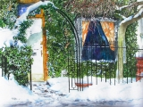 snow trellis 3 belmont st 22x30