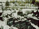 winter rooftops 14 x 22