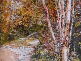 wood duck trail 1 - birches 26x20