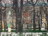luxembourg gardens 12 30x22