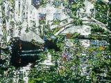 Venice in bloom, Rio della Eremite 32 x 22