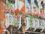 grand canal palace balcony 30x22